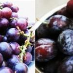 Šljive i grožđe – uticaj na mršavljenje